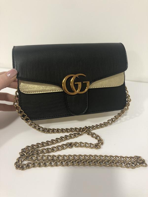 Мини сумочка сумка gucci кожа