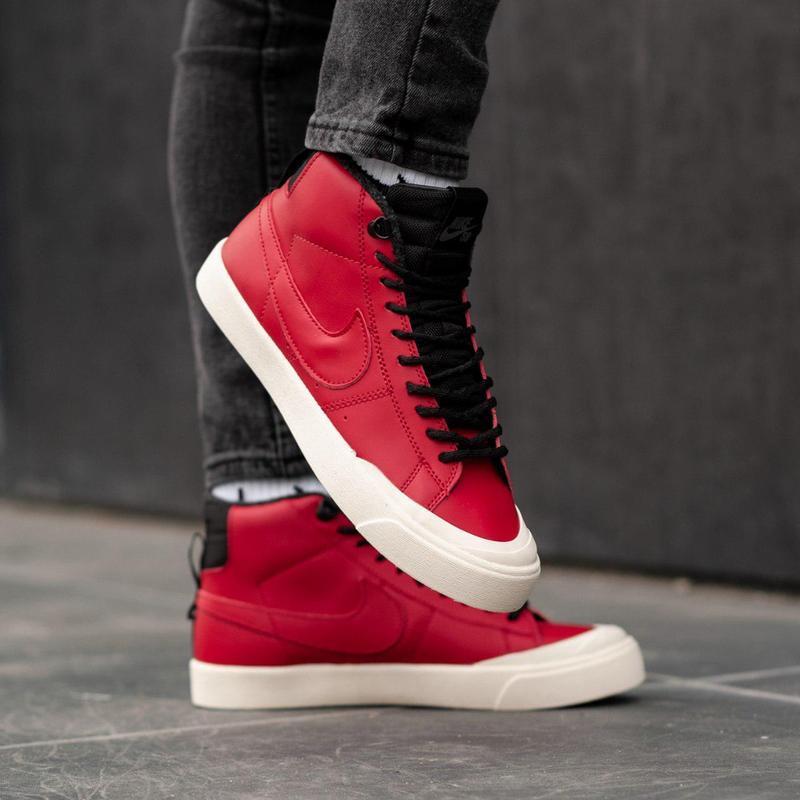 Шикарные мужские зимние кроссовки / ботинки ❣️ nike sb red ❣️ ...