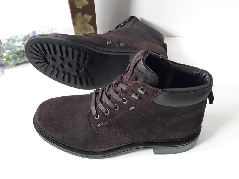 Мужские зимние ботинки кельвин кляйн. еврозима.