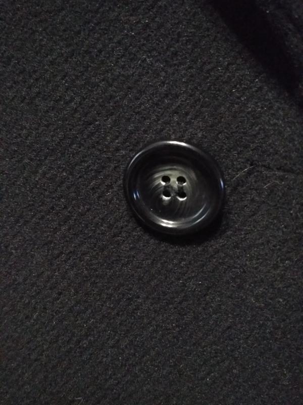 Barisal. шерсть и кашемир! мужское чёрное демисезонное пальто - Фото 6
