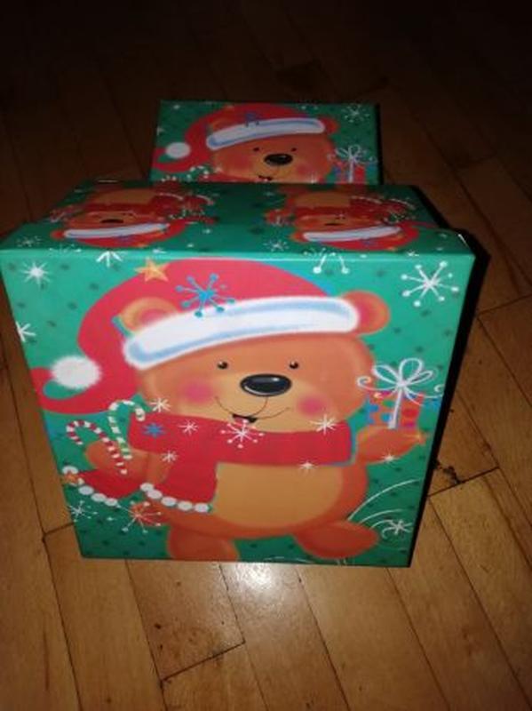 Коробка новогодняя