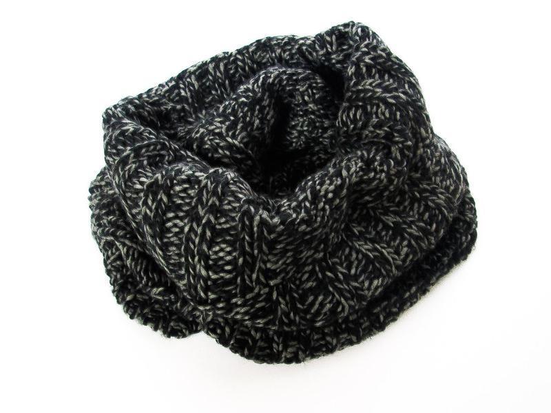 Теплый шарф снуд унисекс германия