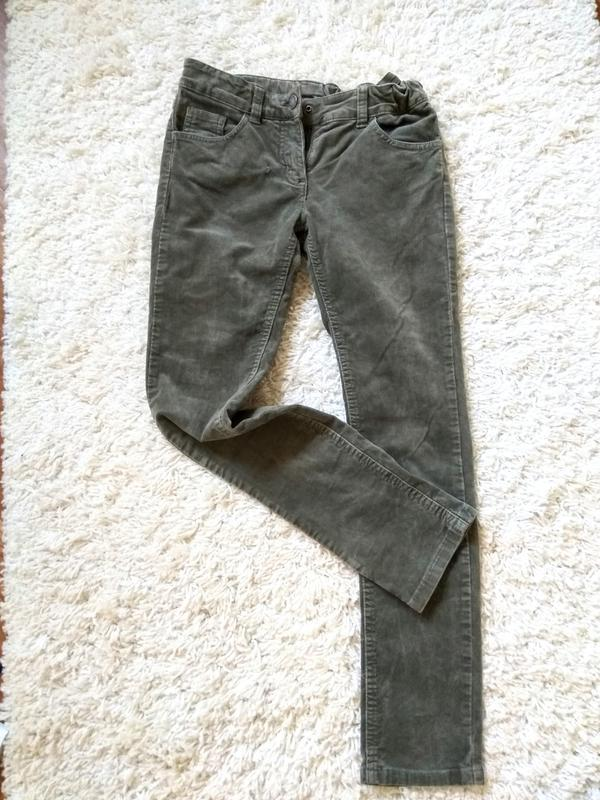 Вельветовые джинсы скинни