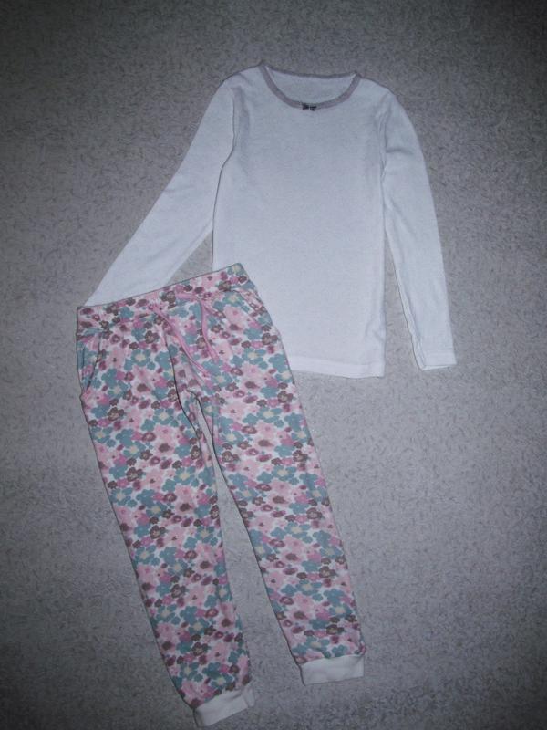 Комплект штанишки nutmeg  + реглан george 5-6лет