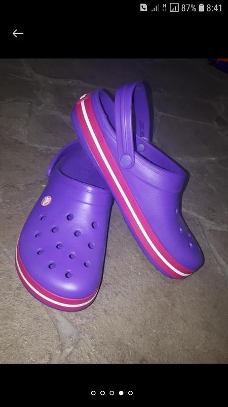 Сабо клоги шлепки сандали crocs w11