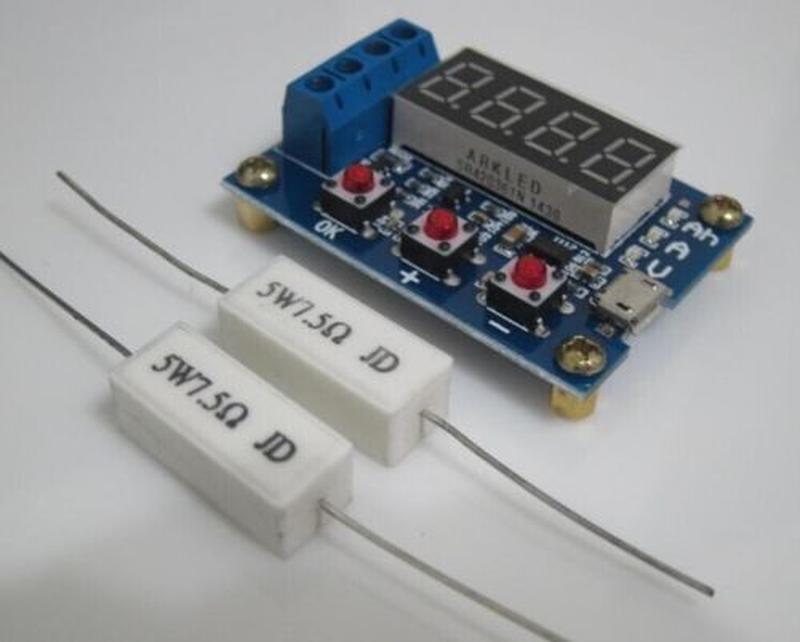Измеритель емкости батарей аккумулятора шуруповерта - Фото 2