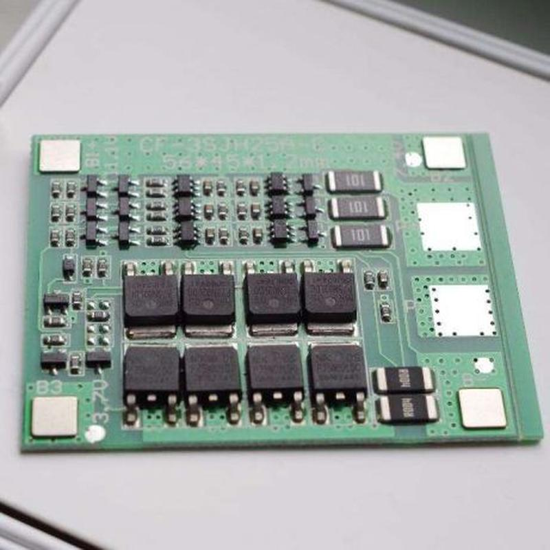 BMS 3S 40А, 12.6V Контроллер заряда разряда с балансиром для L...