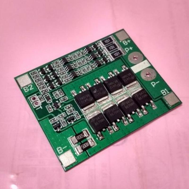 BMS 3S 40А, 12.6V Контроллер заряда разряда с балансиром для L... - Фото 4