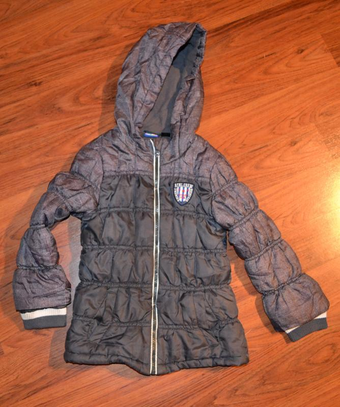 Куртка lupilu  рост 116 на 5-6 лет