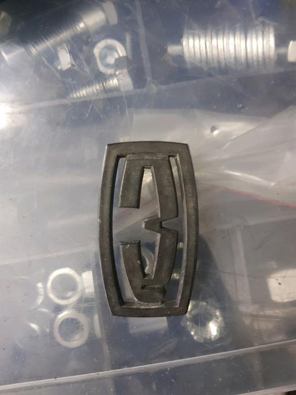 Значок ЗАЗ 968м