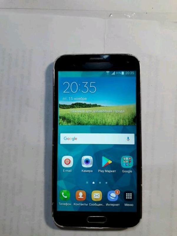 Телефон samsung s5 SM-G900F