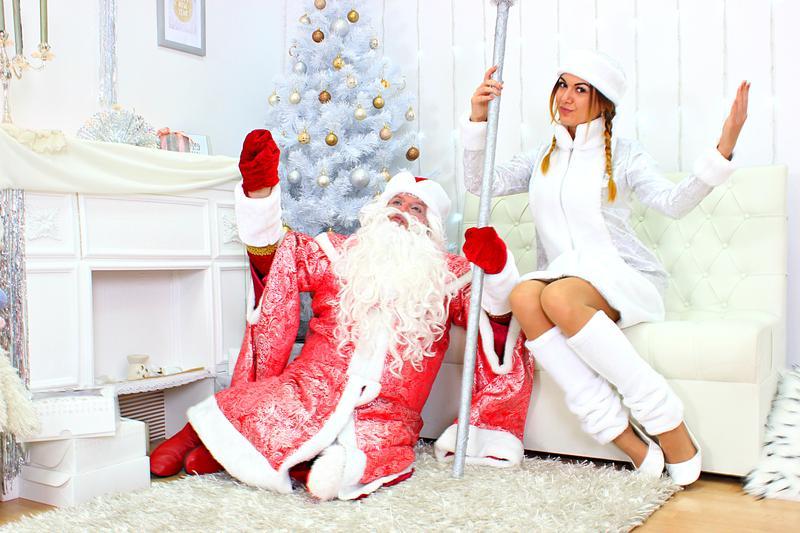 Дед Мороз и Снегурочка в Одессе. - Фото 2