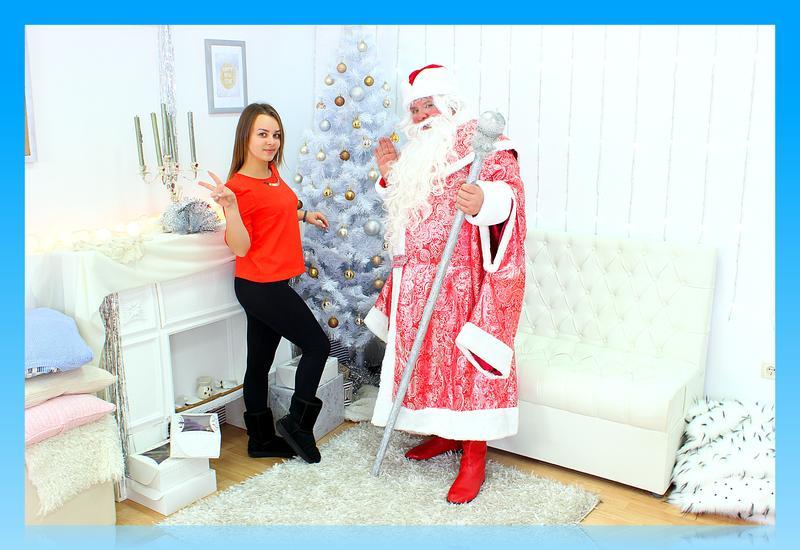 Дед Мороз и Снегурочка в Одессе. - Фото 3