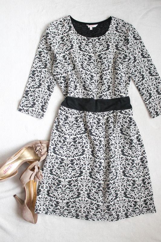 Стильное фактурное платье от clockhouse, размер xl