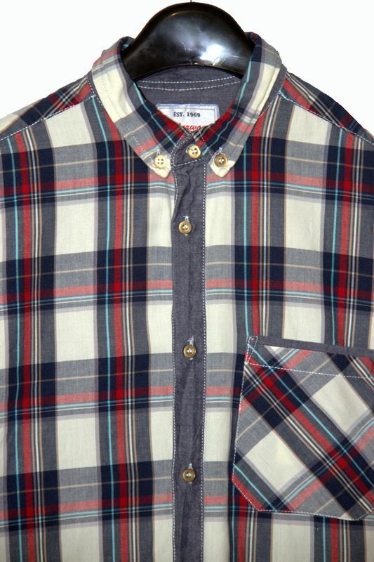 Стильная мужская рубашка в клетку - Фото 2