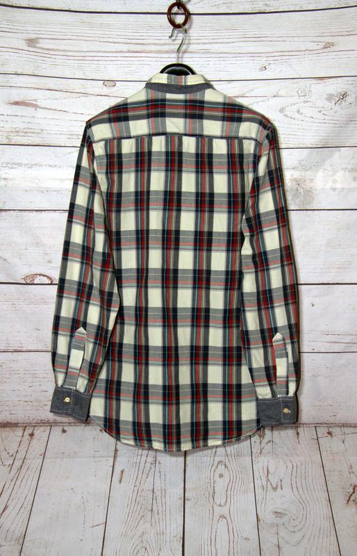 Стильная мужская рубашка в клетку - Фото 3