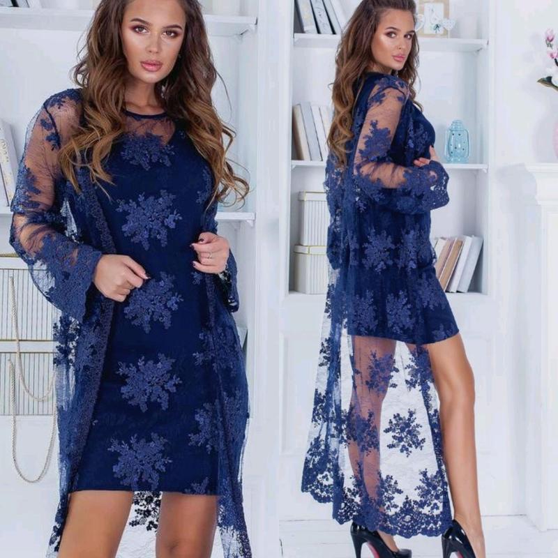 Нарядный Костюм (Платье +Кардиган)
