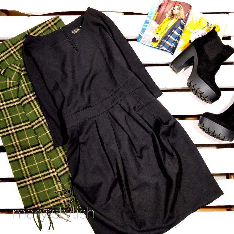 Черное красивое платье