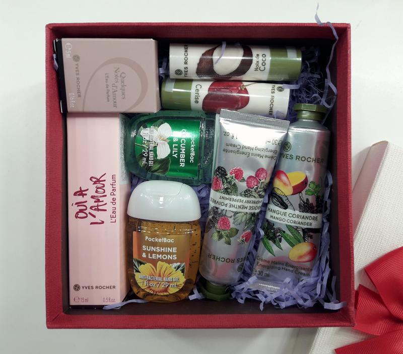 Набор в подарочной коробке парфюмированная вода yves rocher