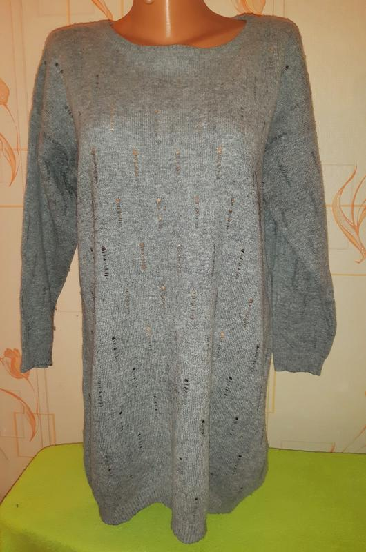 Модное шерстяное платье /туника modstrom