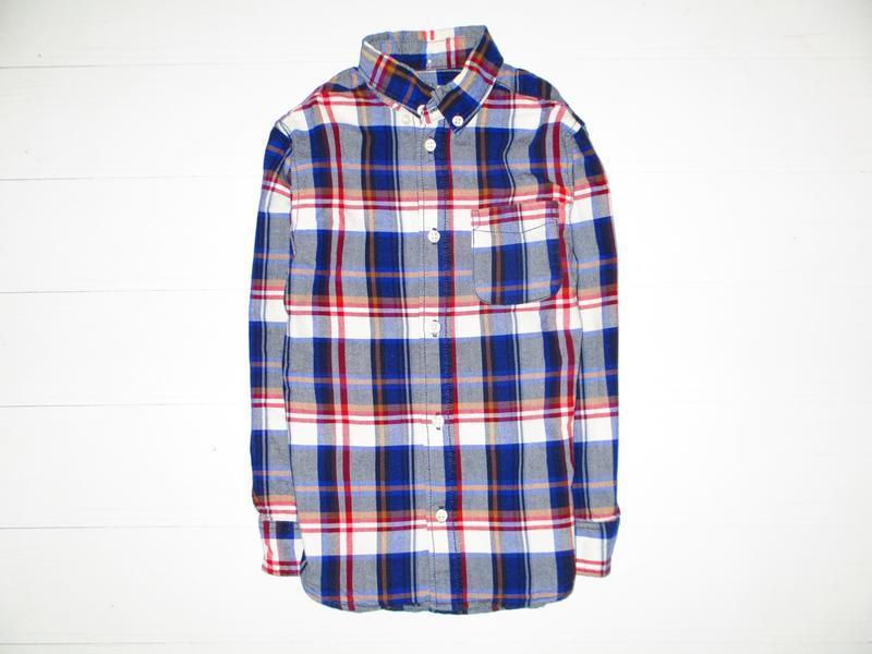 Рубашка h&m на 5-6л