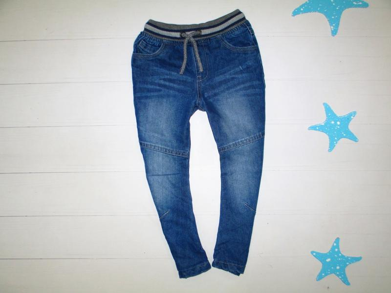 Утеплённые джинсы matalan на 2-4г