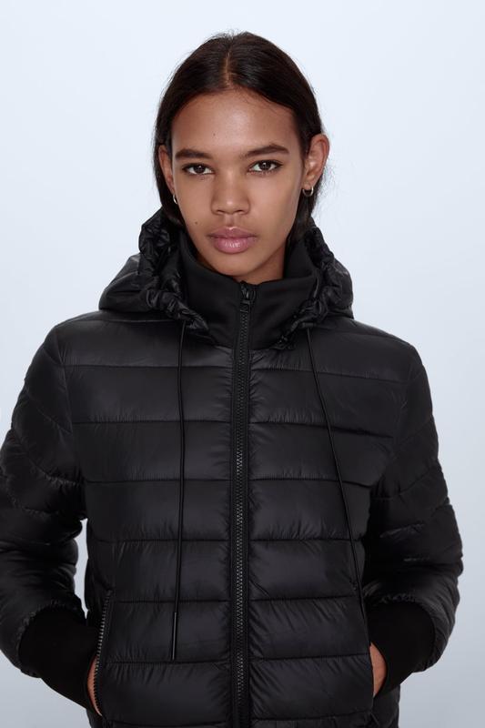 Водовідштовхуюча складна куртка-трансформер, zara! оригінал з ...