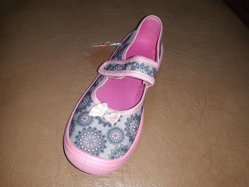 Текстильные туфли на девочку 31-36 viggami