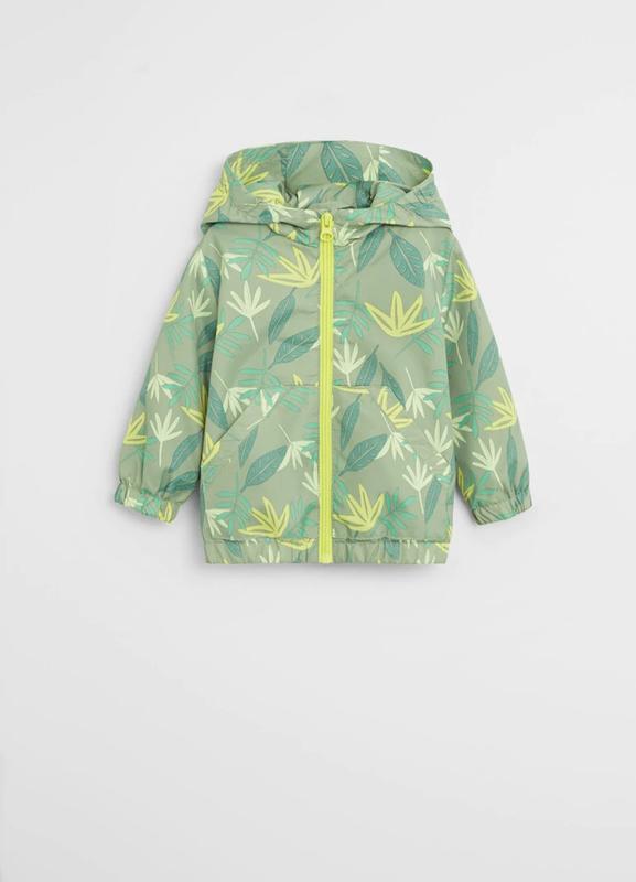 Красивая фирменная ветровка куртка для мальчика, манго