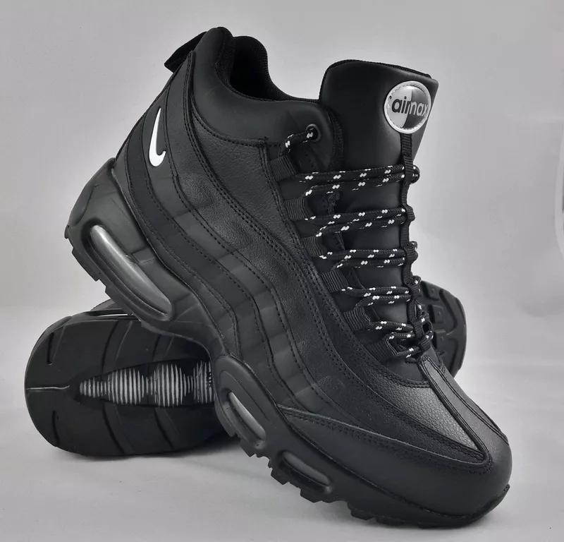 Зимние мужские кроссовки с мехом Nike Air Max 95