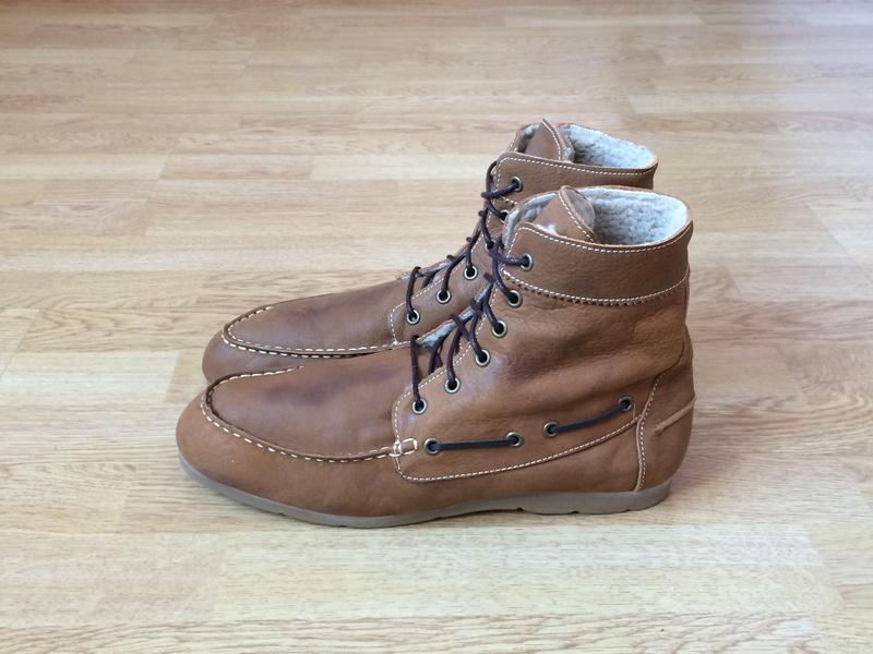 Кожаные ботинки bianco дания 46 размера