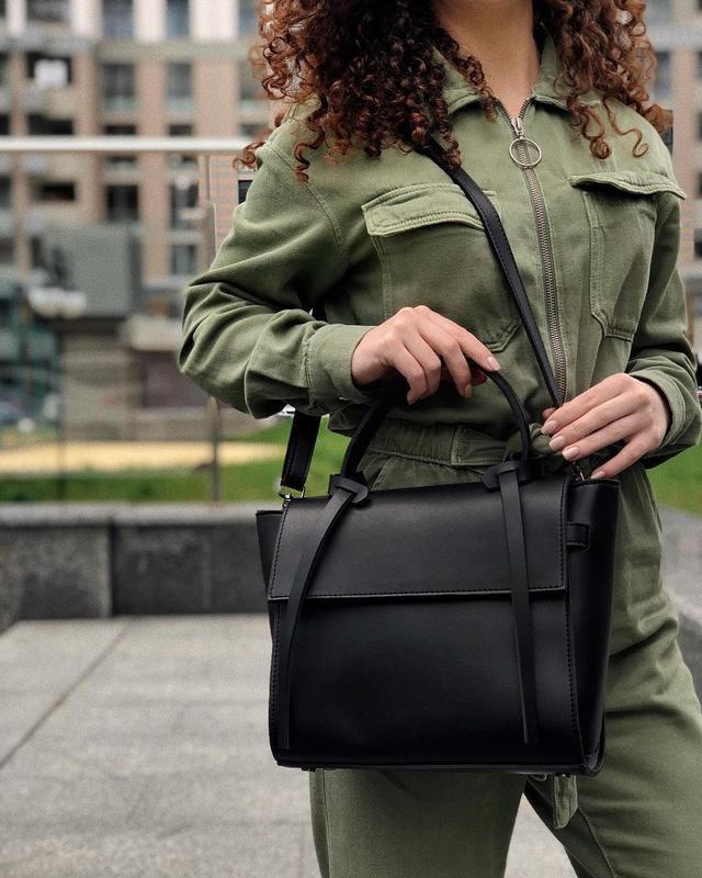 6 цветов! черная классическая сумка с ремешками