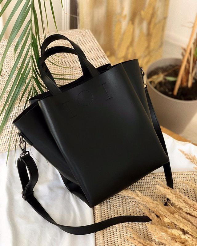 4 цвета! черная сумка средних размеров