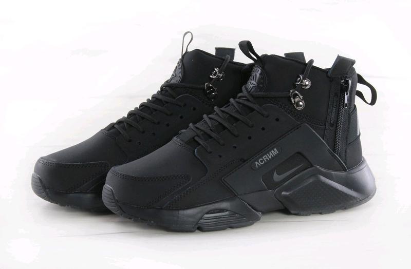 Зимние кроссовки Nike Huarache Зимние (Термоносок)