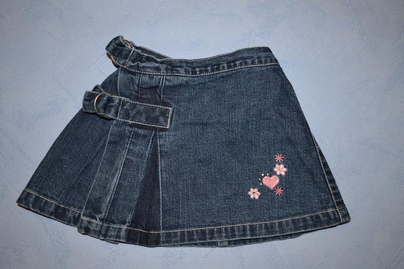 Рост 62 см джинсовая юбка