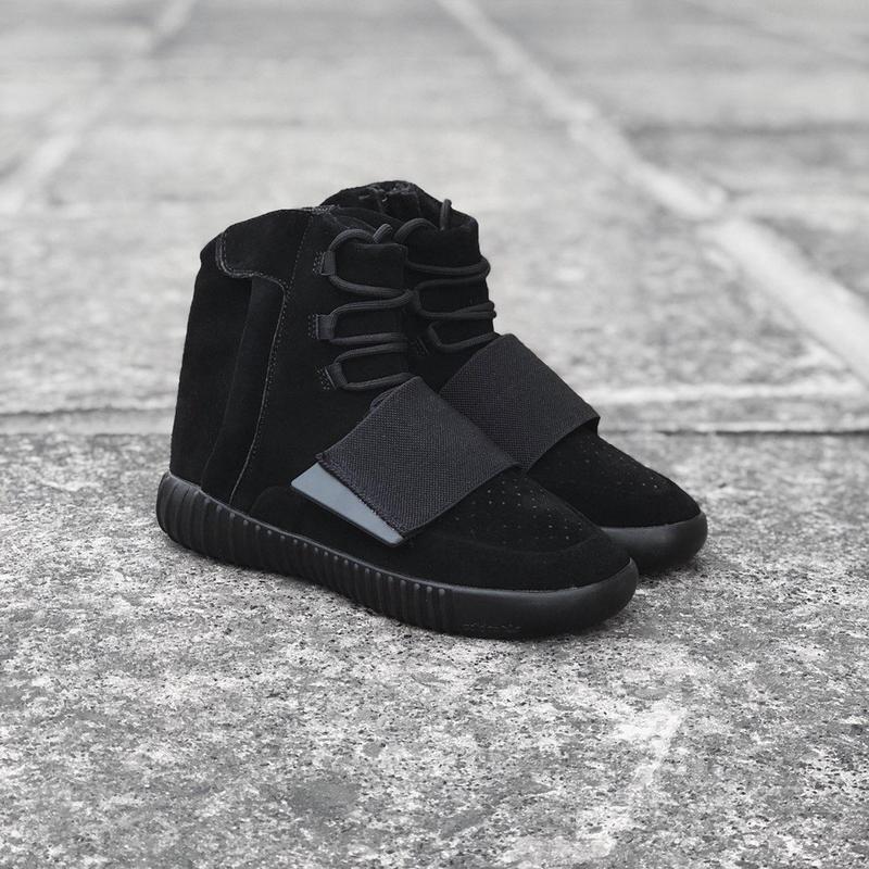 Кроссовки adidas yeezy boost 750 triple black 41-45р.