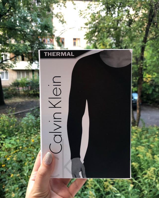 Комплект мужского термобелья calvin klein (штаны + кофта) - Фото 4