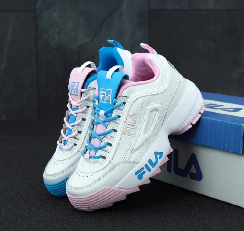 Женские кроссовки fila disruptor 2 x atipici the candy shop