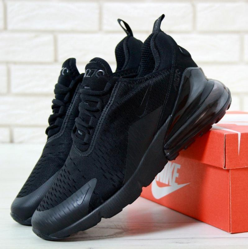 Кроссовки nike air max 270 triple black