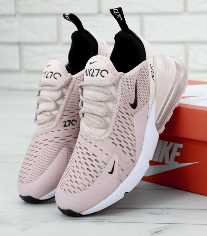 Женские кроссовки nike air max 270 coral stardust