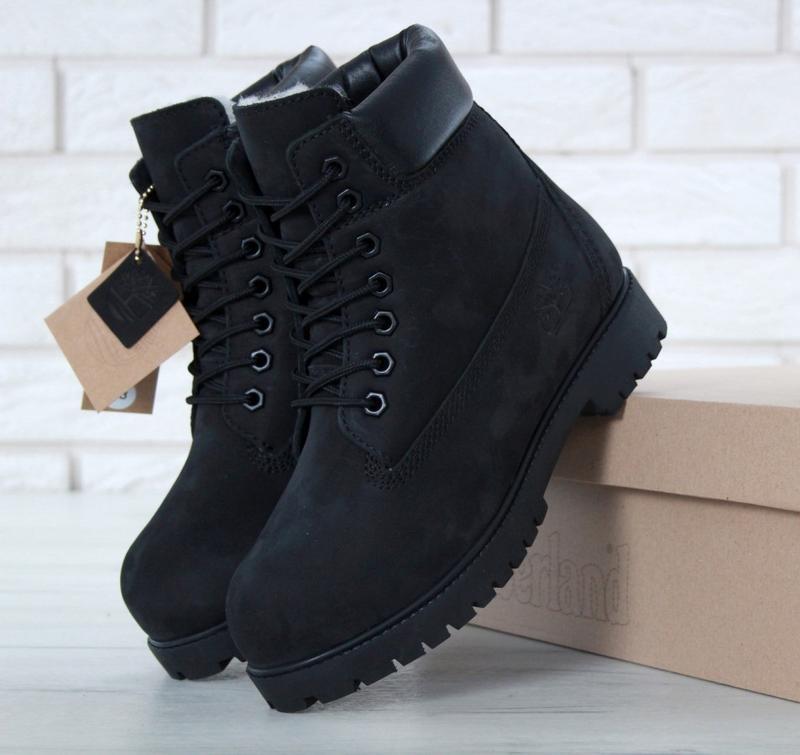 Женские ботинки timberland black