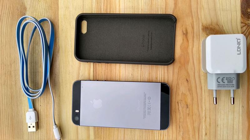 IPhone 5s space grey Neverlock - Фото 3