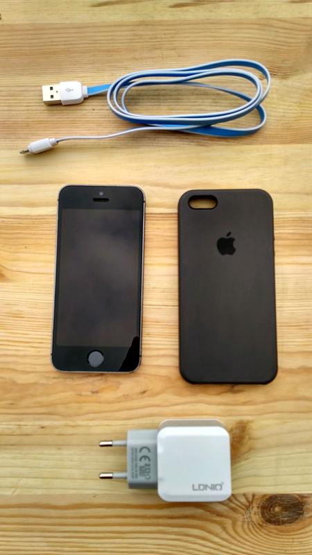 IPhone 5s space grey Neverlock