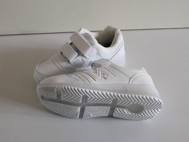 Кроссовки белые led подсветка на 33-34 размер - Фото 3