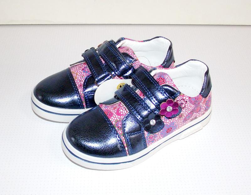 Туфли кроссовки для девочек clibee синие 26 - 31