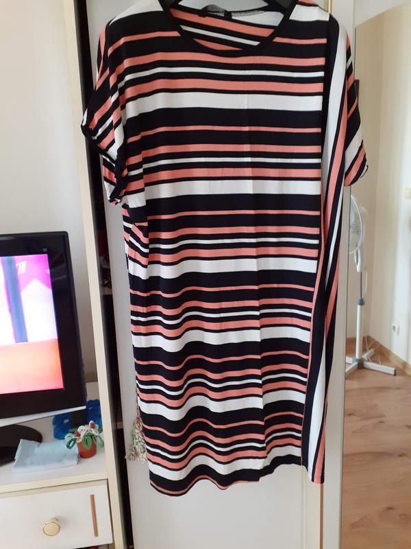 Эффектное платье большого размера