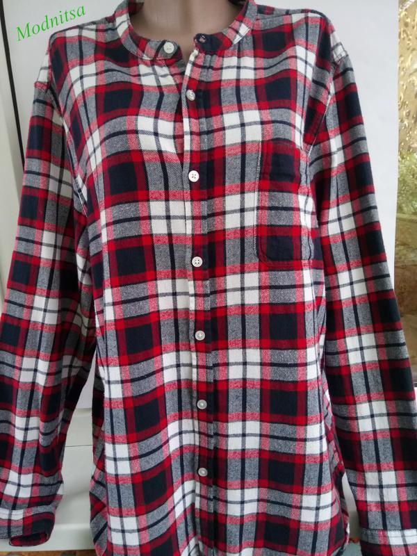 Модная рубашка в клетку от cedarwood state uk 18/46/xxl