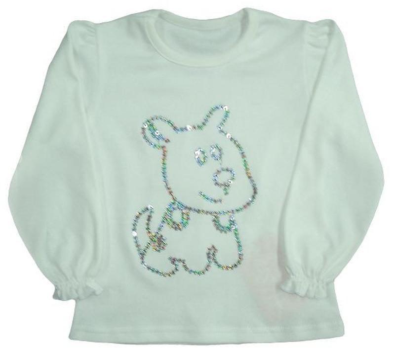 "Блуза для девочки ""собачка"""