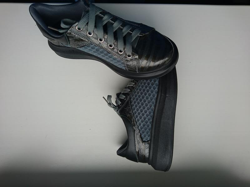 Кожаные криперы слипоны туфли на платформе мокасины кеды кросс...
