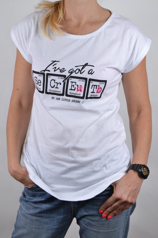 Удлиненная футболка с принтом secret_р.s-м_оверсайз модель